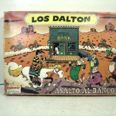 Juegos de mesa: JUEGO DE MESA LOS DALTON FALOMIR REF: 4200 AÑOS 80- ASALTO AL BANCO -ANTIGUO. Lote 239897760