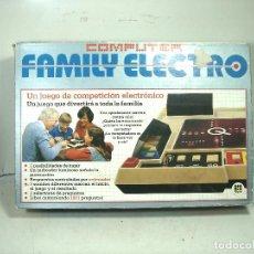 Juegos de mesa: FAMILY ELECTRO COMPUTER- DISET REF. 671 AÑO 1983- JUEGO ORDENADOR INFANTIL DE PREGUNTAS. Lote 239902555