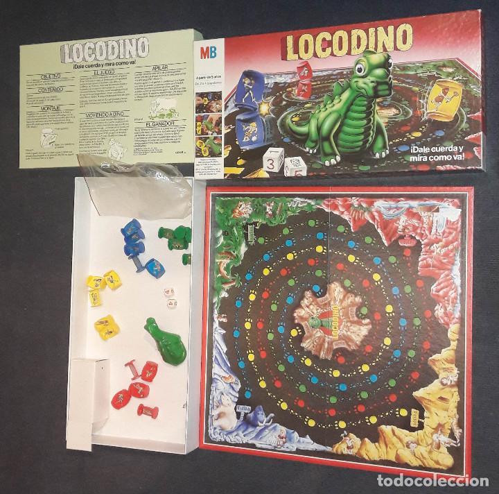 Juegos de mesa: LOCODINO COMPLETO MB JUEGOS (DINOSAURIO NO FUNCIONA) - Foto 8 - 240264275