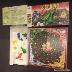 Juegos de mesa: LOCODINO COMPLETO MB JUEGOS (DINOSAURIO NO FUNCIONA). Lote 240264275