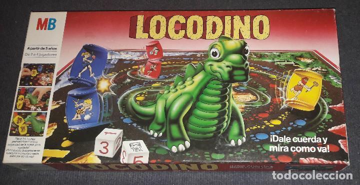 Juegos de mesa: LOCODINO COMPLETO MB JUEGOS (DINOSAURIO NO FUNCIONA) - Foto 2 - 240264275