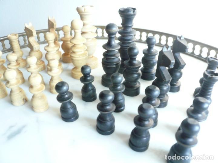 Juegos de mesa: ANTIGUO AJEDREZ PEQUEÑO. FICHAS DE MADERA TIPO REGENCIA. EN CAJA Y SIN TABLERO. COMPLETO - Foto 18 - 240270495