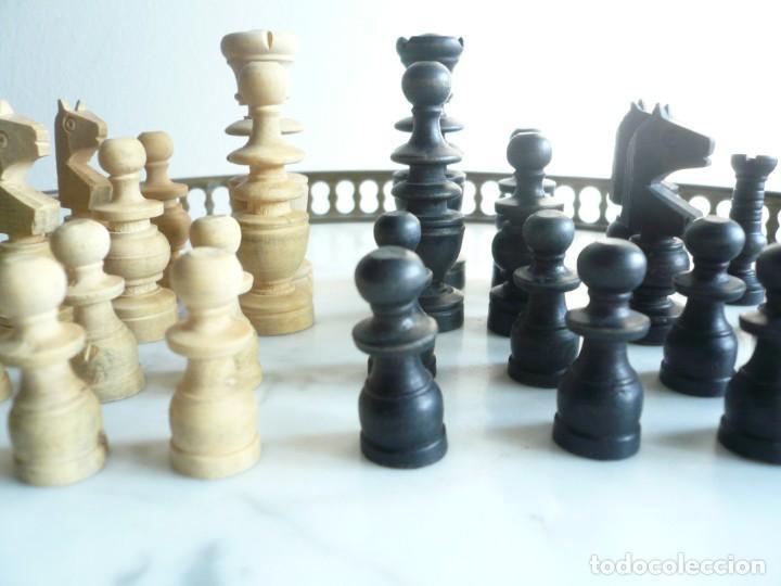 Juegos de mesa: ANTIGUO AJEDREZ PEQUEÑO. FICHAS DE MADERA TIPO REGENCIA. EN CAJA Y SIN TABLERO. COMPLETO - Foto 19 - 240270495