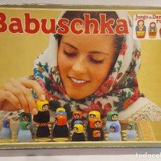Juegos de mesa: BABUSCHKA / JUEGO DE DAMAS RUSO / DE JUEGOS EDUCA / AÑOS 80 / COMPLETO / SIN INSTRUCCIONES.. Lote 240280045