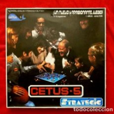 Juegos de mesa: CETUS-5 STRATEGIC 1979 (DIFICIL) FABRICADO POR ESCANDIA (CETUS ANSTALT). Lote 240349515