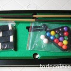 Juegos de mesa: MINI BILLAR DE LUXE- JUEGO DE MESA- MUY BUEN ESTADO-. Lote 240510270