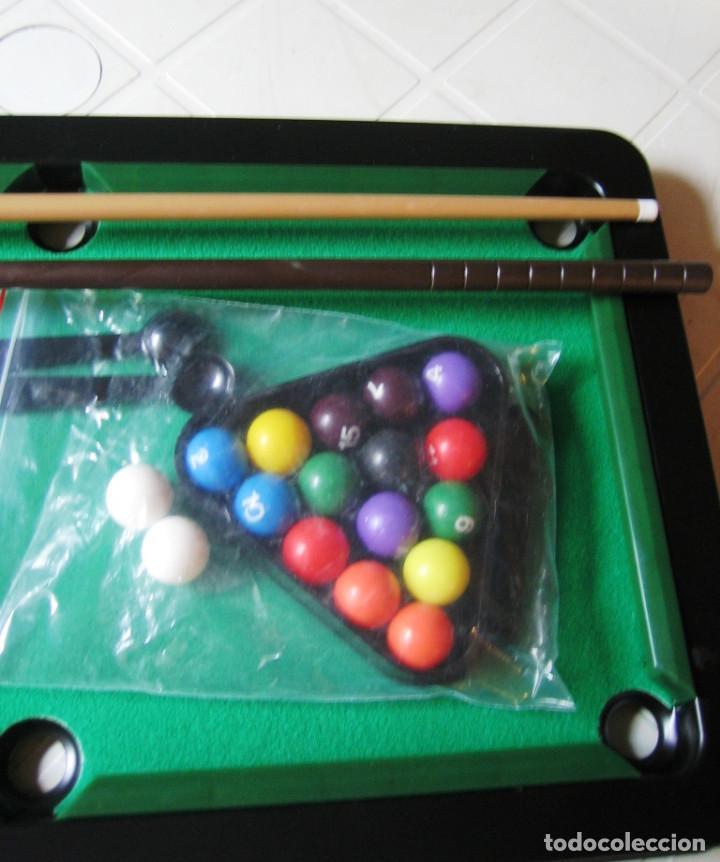Juegos de mesa: Mini billar de luxe- Juego de mesa- Muy buen estado- - Foto 2 - 240510270