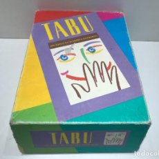Jeux de table: TABU - MB JUEGOS - COMPLETO. Lote 240545315