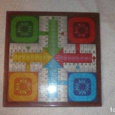 Juegos de mesa: TABLERO DE AJEDREZ Y PARCHIS DE FOURNIER. Lote 240873195