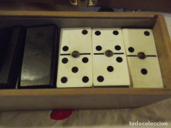 Juegos de mesa: Colección de Dominós Son 5 (solo uno usado) - Foto 8 - 240897320