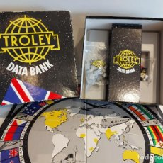 Juegos de mesa: TROLEY DATA BANK / A FUN WAY INTO ENGLISH / PLAZA & JANÉS-1989 / MUY BUEN ESTADO.. Lote 241003190