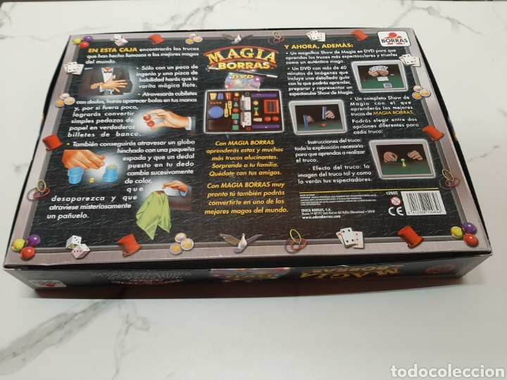 Juegos de mesa: Magia Borras 150 trucos /DVD - Foto 3 - 241119340