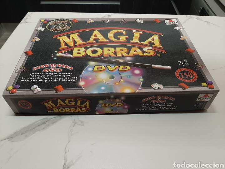 MAGIA BORRAS 150 TRUCOS /DVD (Juguetes - Juegos - Juegos de Mesa)