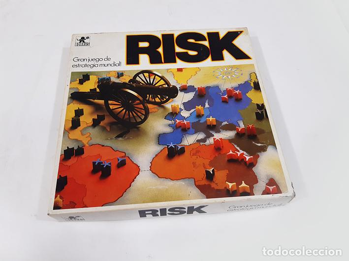 JUEGO DE MESA DEL RISK DE BORRAS (Juguetes - Juegos - Juegos de Mesa)