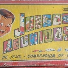 Juegos de mesa: ANTIGUO JUEGO REUNIDOS GEYPER 45. Lote 241317810
