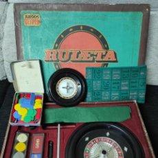 Juegos de mesa: ANTIGUO JUEGO RULETA GEYPER. Lote 241498130