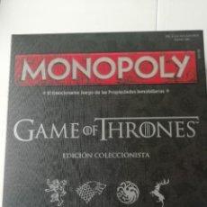Juegos de mesa: MONOPOLY JUEGO DE TRONOS. Lote 241646780