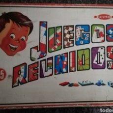 Juegos de mesa: JUEGOS REUNIDOS 45 GEYPER. Lote 241664070