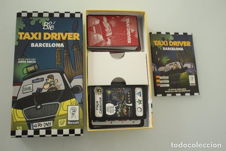 TAXI DRIVER BARCELONA COMPLETO (Juguetes - Juegos - Juegos de Mesa)