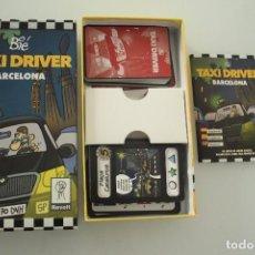 Juegos de mesa: TAXI DRIVER BARCELONA COMPLETO. Lote 241706050