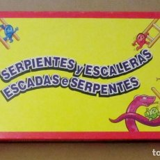 Juegos de mesa: ANTIGUO JUEGO DE MESA. SERPIENTES Y ESCALERAS. JUEGOS SPEAR, MATTEL.. Lote 241736325
