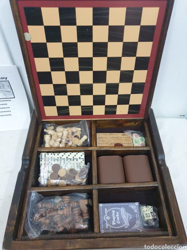Juegos de mesa: Caja de juegos de madera - Foto 2 - 242137430