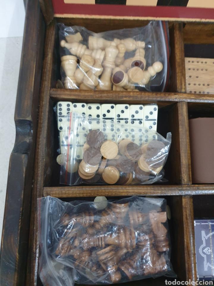 Juegos de mesa: Caja de juegos de madera - Foto 3 - 242137430