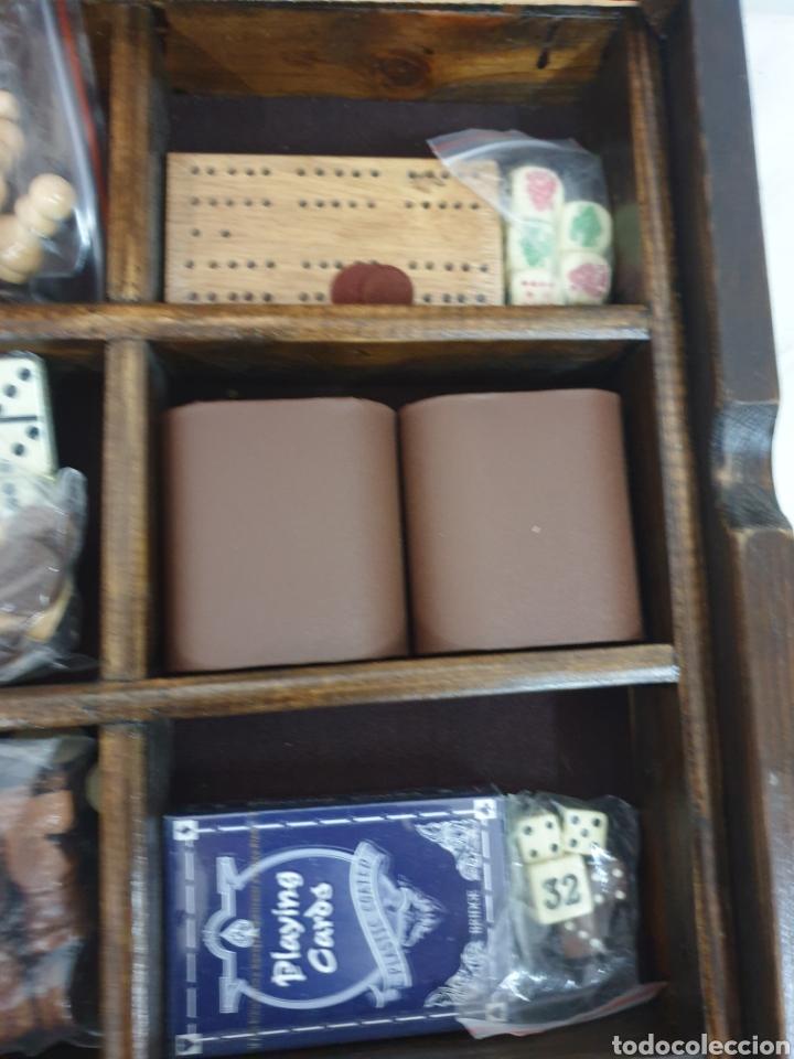 Juegos de mesa: Caja de juegos de madera - Foto 4 - 242137430