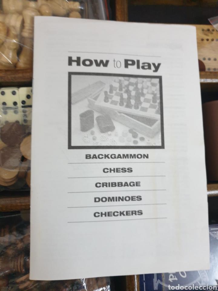 Juegos de mesa: Caja de juegos de madera - Foto 5 - 242137430