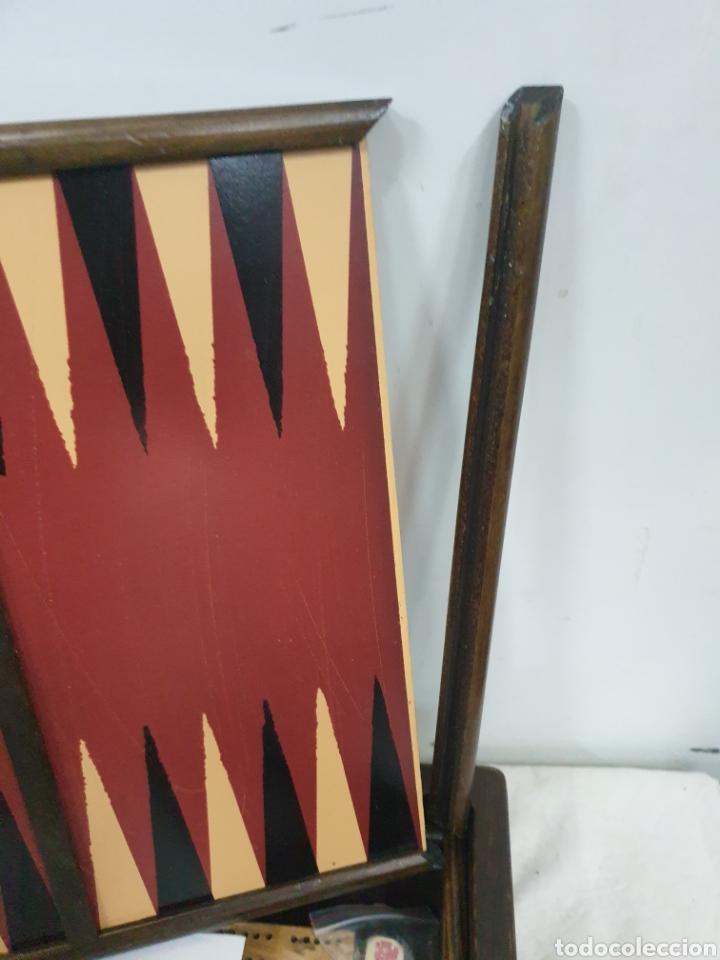 Juegos de mesa: Caja de juegos de madera - Foto 6 - 242137430