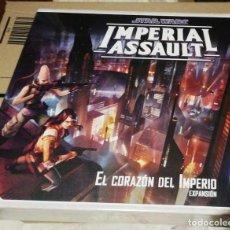 Juegos de mesa: STAR WARS: IMPERIAL ASSAULT - EL CORAZON DEL IMPERIO - PRECINTADO. Lote 242197515