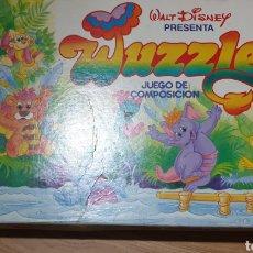 Juegos de mesa: WUZZLES, JUEGO DE COMPOSICIÓN DE MB. Lote 242899200