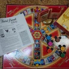 Juegos de mesa: JUEGO TRIVIAL PURSUIT EDICIÓN DISNEY DE PARKER. Lote 243156995