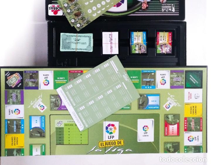Juegos de mesa: EL JUEGO DE LA LIGA 2005/2006 DE BORRAS MESSI ZIDANE BECKHAM RONALDINHO RONALDO EDUCA RIMA CEFA MB - Foto 6 - 243244930