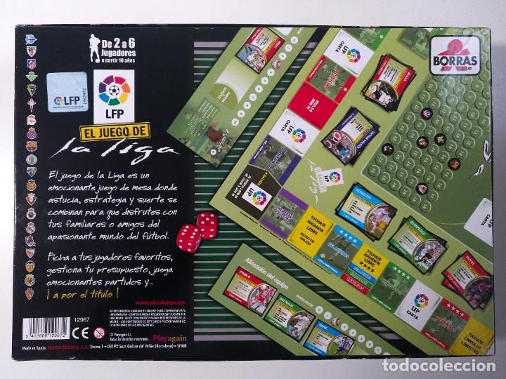 Juegos de mesa: EL JUEGO DE LA LIGA 2005/2006 DE BORRAS MESSI ZIDANE BECKHAM RONALDINHO RONALDO EDUCA RIMA CEFA MB - Foto 8 - 243244930