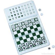 Juegos de mesa: JUEGO DE AJEDREZ MAGNÉTICO DE BOLSILLO. MAGNETIC POCKET WALLET CHESS SET. Lote 283921443
