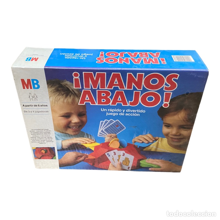 Juegos de mesa: Juego Manos Abajo MB 1988 Nuevo - Foto 2 - 243690425