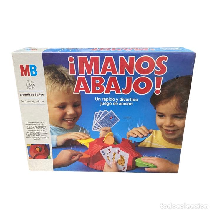 JUEGO MANOS ABAJO MB 1988 NUEVO (Juguetes - Juegos - Juegos de Mesa)