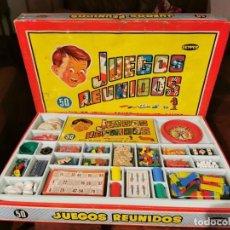 Jogos de mesa: JUEGOS REUNIDOS 50 - GEYPER - COMPLETO. Lote 243767835