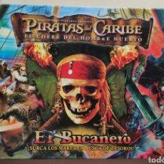 Juegos de mesa: JUEGO DE MESA PIRATAS DEL CARIBE, EL BUCANERO. Lote 243978395