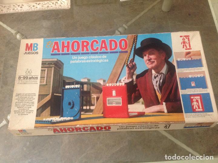 Juegos de mesa: Antiguo juego El ahorcado de MB 1983 - Foto 2 - 244520850