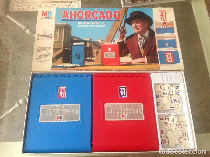 ANTIGUO JUEGO EL AHORCADO DE MB 1983 (Juguetes - Juegos - Juegos de Mesa)