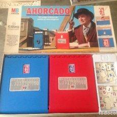 Juegos de mesa: ANTIGUO JUEGO EL AHORCADO DE MB 1983. Lote 244520850