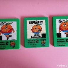 Juegos de mesa: JUEGO LOTE DE 3 PUZZLE NARANJITO MUNDIA 1982. Lote 244655525