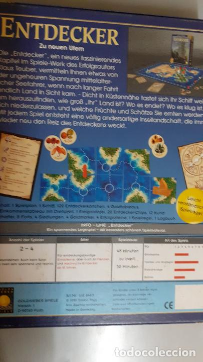 Juegos de mesa: Entdecker. Gold Sieber Spiele - Foto 2 - 244824255