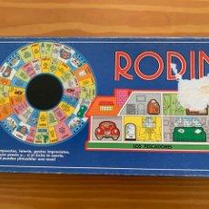 Jogos de mesa: JUEGO DE MESA RODIN EN BUEN ESTADO COMPLETO - BORRÁS 1989. Lote 244922855