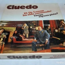 Juegos de mesa: CLUEDO (JUEGO DE MESA DE BORRÁS). Lote 245121505