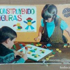 Juegos de mesa: CONSTRUYENDO FIGURAS- GOULA - JUEGO DE MESA. Lote 245124225