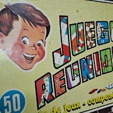 Juegos de mesa: JUEGOS REUNIDOS GEYPER 50. Lote 245217815
