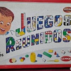 Juegos de mesa: JUEGOS REUNIDOS GEYPER 45. Lote 245218380